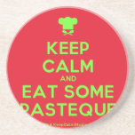 [Chef hat] keep calm and eat some pasteque  Coasters