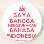 [Crown] saya bangga menggunakan bahasa indonesia  Coasters