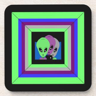Coasters Alien Tres Amigos Gaming Beam Coaster