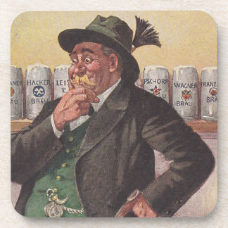 Coasters Antique Lost-art German Beer Choices