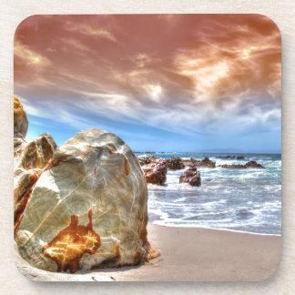 Coasters beach scene