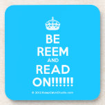 [Crown] be reem and read on!!!!!!  Coasters (Cork)