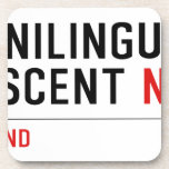 Cunnilingus  crescent  Coasters (Cork)