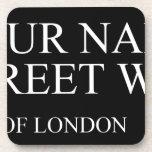 Your Name Street  Coasters (Cork)