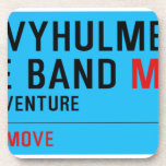 3rd Davyhulme Scout & Guide Band  Coasters (Cork)