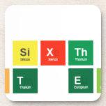 Carbon  is the sixth most  abundant element  Coasters (Cork)