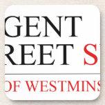 REGENT STREET  Coasters (Cork)