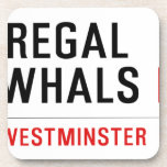THE REGAL  NARWHALS  Coasters (Cork)