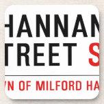 Shannan Street  Coasters (Cork)