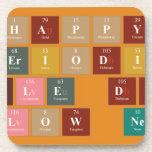 Happy  Periodic  Table Day Fellow Nerds  Coasters (Cork)