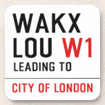 WAKX LOU  Coasters (Cork)