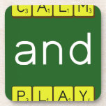 KEEP CALM and PLAY GAMES  Coasters (Cork)