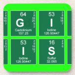 Digital Chemistry  Coasters (Cork)