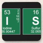 Chemistry  Coasters (Cork)