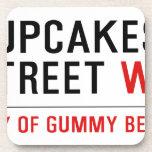 cupcakes Street  Coasters (Cork)
