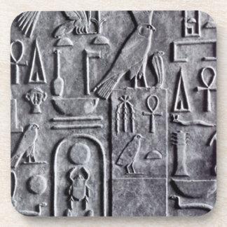 Coasters Egyptology Egyptian Ankh scarab symbols