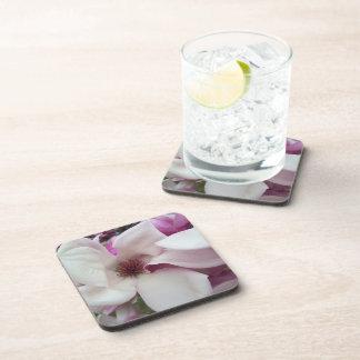 Coasters - Hard Plastic - Saucer Magnolia Bloom