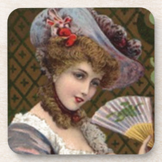 Coasters High Victorian Fashion Lady Woman Purple