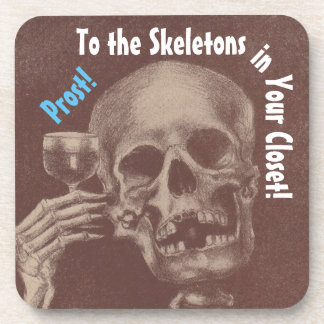 Coasters Prost! Toasting Skeletons in Your Closet
