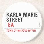 Karla marie STREET   Coasters (Sandstone)