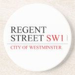 REGENT STREET  Coasters (Sandstone)