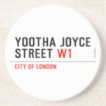YOOTHA JOYCE Street  Coasters (Sandstone)