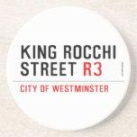 king Rocchi Street  Coasters (Sandstone)