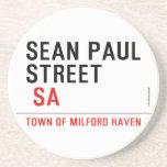 Sean paul STREET   Coasters (Sandstone)