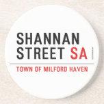 Shannan Street  Coasters (Sandstone)