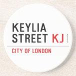 Keylia Street  Coasters (Sandstone)