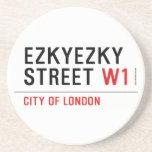 ezkyezky Street  Coasters (Sandstone)