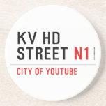 KV HD Street  Coasters (Sandstone)