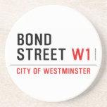 BOND STREET  Coasters (Sandstone)