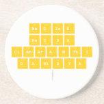 Nadine Redha clamaranthi danisya   Coasters (Sandstone)