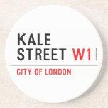 Kale Street  Coasters (Sandstone)