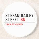 Stefan Bailey Street  Coasters (Sandstone)