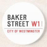 baker street  Coasters (Sandstone)