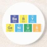baby genius  Coasters (Sandstone)