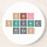 Owl Square Press  Coasters (Sandstone)