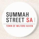 Summah Street  Coasters (Sandstone)