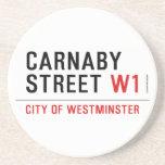CARNABY STREET  Coasters (Sandstone)