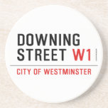 downing street  Coasters (Sandstone)