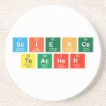 Science Teacher  Coasters (Sandstone)