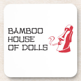 Coasters (set of 6) - Bamboo House of Dolls