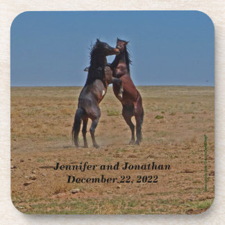 Coasters, Set of 6, Dancing Horses
