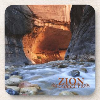 Coasters, Set of 6, Zion Narrows Coaster