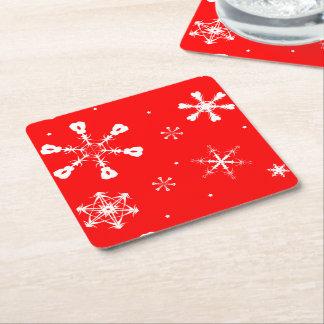 Coasters - Snowflakes - Christmas
