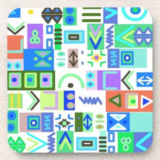 Coasters Stylish Doodles doodling whimsical whimsy