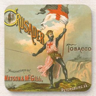 Coasters Vintage Advertising Crusader Tobacco Ads