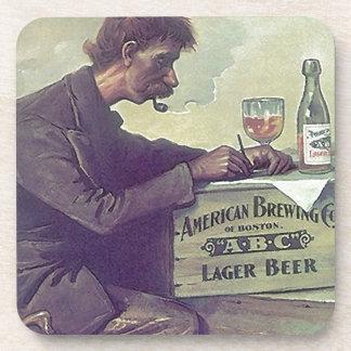 Coasters Vintage Beer Advertising ABC Boston Brew